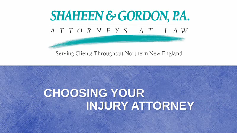 Dangerous Drugs Lawyer | New Hampshire Personal Injury Attorney
